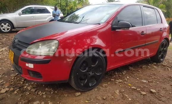 Buy Used Volkswagen Golf Red Car in Harare in Harare