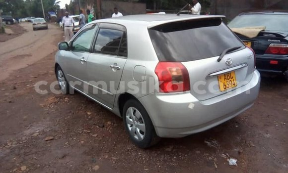 Buy Used Toyota Allex Silver Car in Harare in Harare