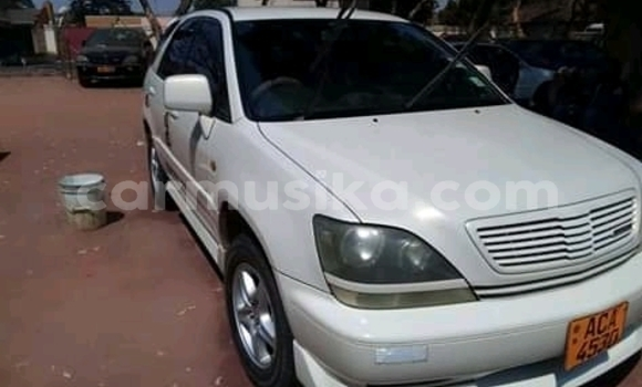 Buy Used Toyota Harrier White Car in Harare in Harare
