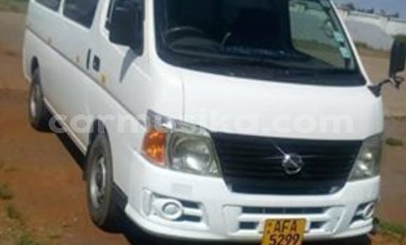 Buy Used Nissan Caravan White Car in Harare in Harare