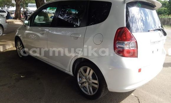 Buy Used Honda Fit White Car in Harare in Harare