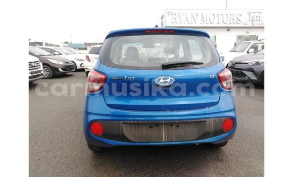 Buy Import Hyundai i10 Blue Car in Import - Dubai in Harare