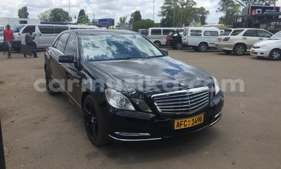 Buy Used Mercedes‒Benz E-klasse Black Car in Harare in Harare