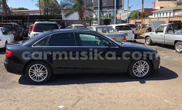 Buy Used Audi A4 Black Car in Harare in Harare