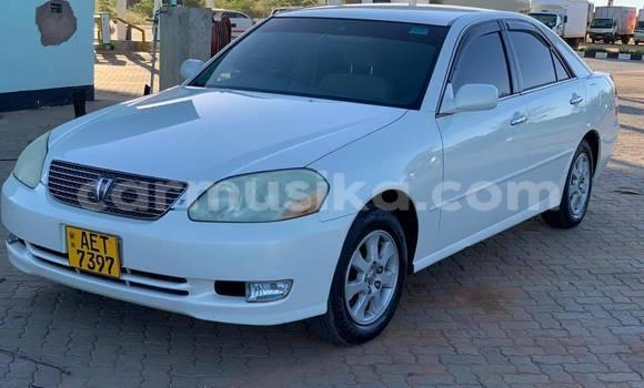 Buy Used Toyota Mark II White Car in Bulawayo in Bulawayo