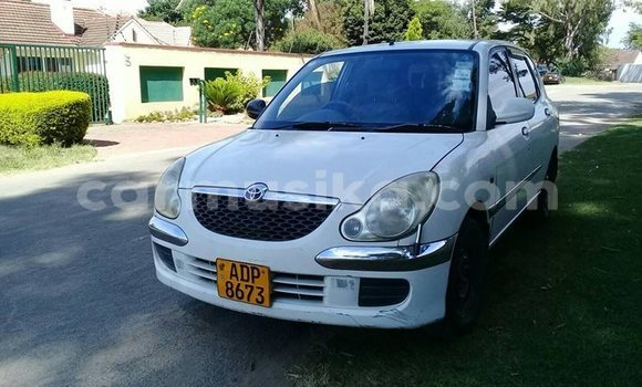 Buy Used Toyota Duet White Car in Harare in Harare