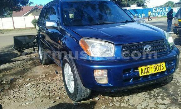 Buy Used Toyota RAV4 Blue Car in Harare in Harare
