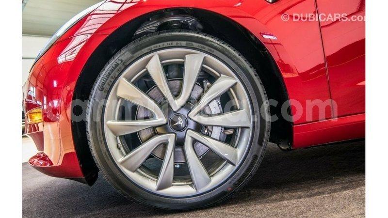 Buy import tesla model 3 red car in import - dubai in ...