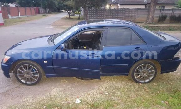 Buy Used Lexus IS Blue Car in Alexandra Park in Harare