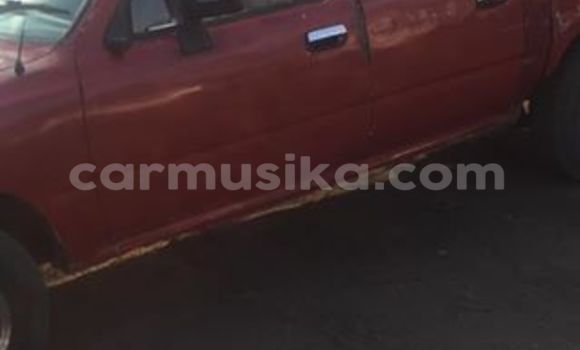 Buy Used Toyota Hilux Red Car in Alexandra Park in Harare