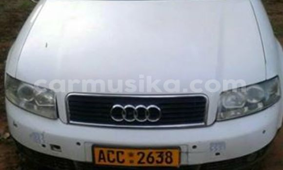 Buy Used Audi A4 White Car in Alexandra Park in Harare