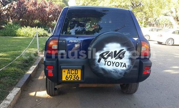 Buy Used Toyota RAV4 Blue Car in Alexandra Park in Harare