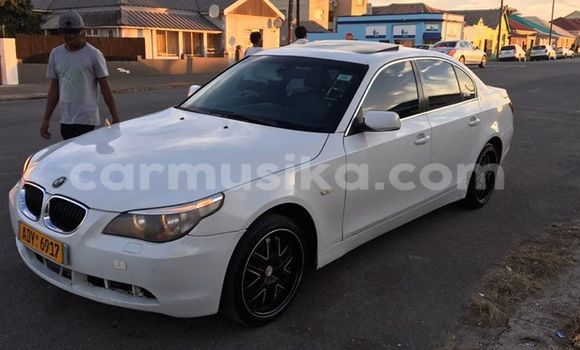 Buy Used BMW 5-Series White Car in Alexandra Park in Harare