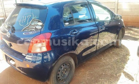 Buy Used Toyota Vitz Blue Car in Alexandra Park in Harare