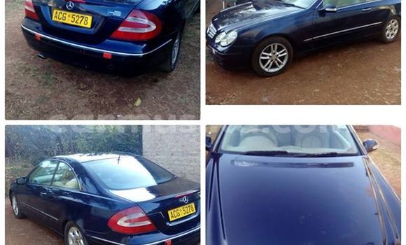 Buy Used Mercedes‒Benz CLK–Class Black Car in Alexandra Park in Harare
