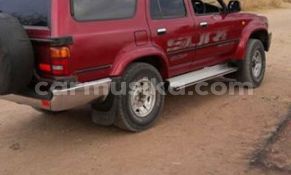 Buy Used Toyota Hilux Surf Red Car in Alexandra Park in Harare