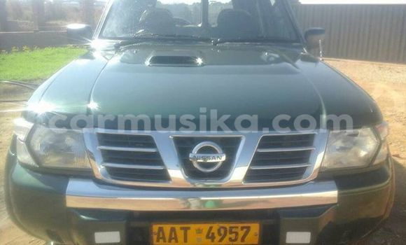 Buy Used Nissan Patrol Green Car in Alexandra Park in Harare
