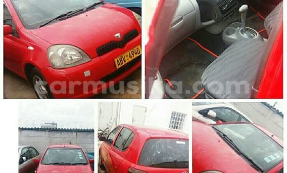 Buy Used Toyota Vitz Red Car in Alexandra Park in Harare