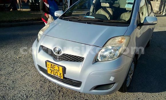 Buy Used Toyota Vitz Silver Car in Alexandra Park in Harare