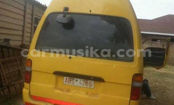 Buy Used Toyota Hiace Other Car in Alexandra Park in Harare