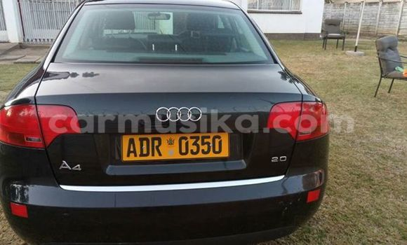 Buy Used Audi A4 Black Car in Alexandra Park in Harare