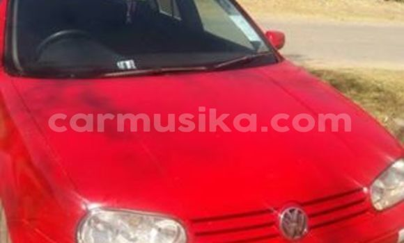 Buy Used Volkswagen Golf Red Car in Alexandra Park in Harare