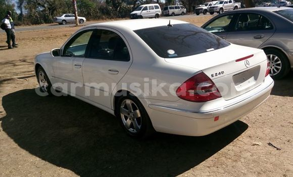 Buy Used Mercedes‒Benz E–Class White Car in Alexandra Park in Harare