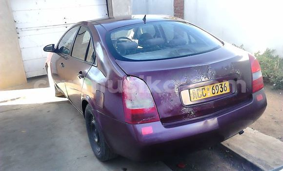 Buy Used Nissan Primera Red Car in Alexandra Park in Harare