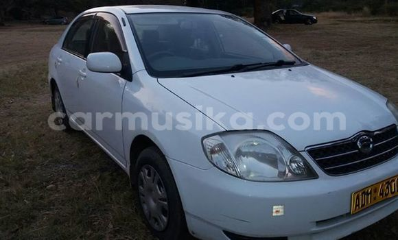 Buy Used Toyota Corolla White Car in Alexandra Park in Harare