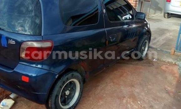 Buy Used Toyota Vitz Blue Car in Bulawayo in Bulawayo