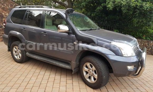 Buy Used Toyota Land Cruiser Prado Silver Car in Harare in Harare