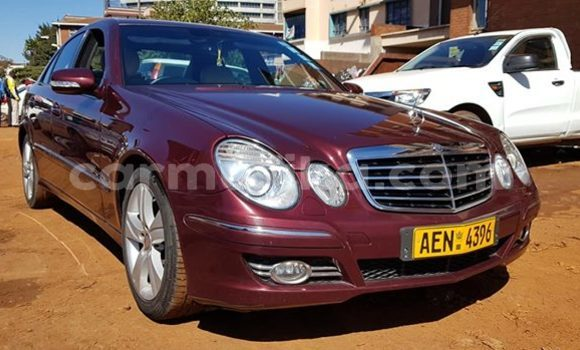 Buy Used Mercedes‒Benz E-Class Red Car in Harare in Harare