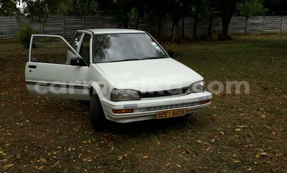 Buy Used Toyota Starlet White Car in Harare in Harare
