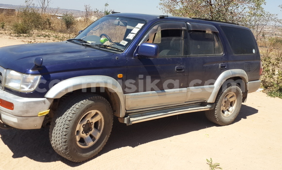 Buy Used Toyota Hilux Surf Blue Car in Harare in Harare