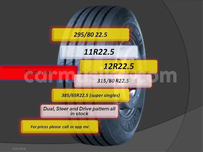 Big with watermark truck tyres