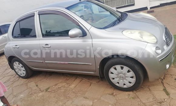 Buy Used Nissan March Silver Car in Harare in Harare