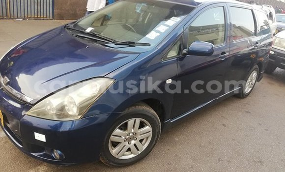 Buy Used Toyota Wish Blue Car in Harare in Harare