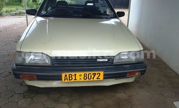 Buy Used Mazda 323 White Car in Harare in Harare