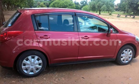 Buy Used Nissan Tiida Red Car in Bulawayo in Bulawayo