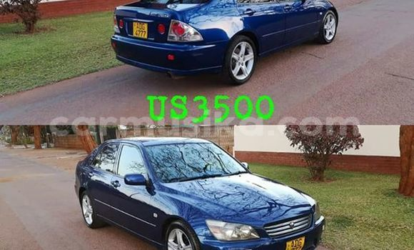 Buy Used Toyota Altezza Blue Car in Harare in Harare