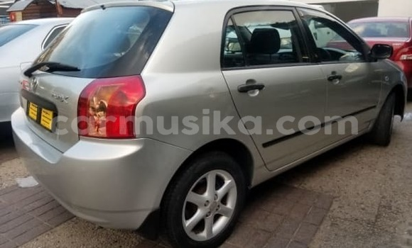 Buy Used Toyota Runx Silver Car in Chegutu in Mashonaland West