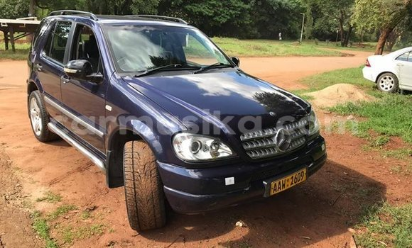 Buy Used Mercedes‒Benz ML–Class Blue Car in Harare in Harare